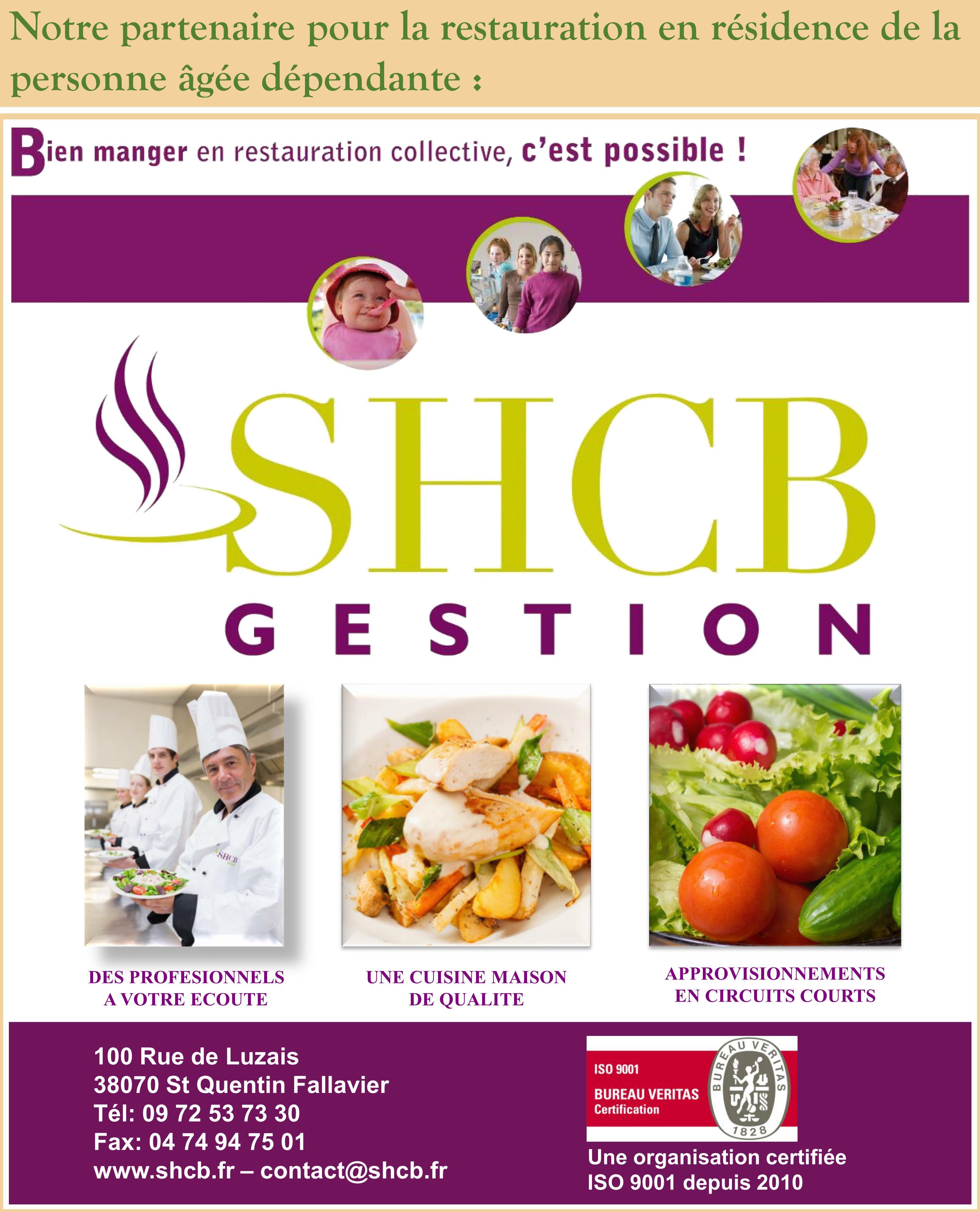 Notre prestataire en cuisine SHCB